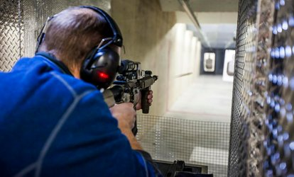 image for One or Three <strong><strong>Shooting</strong>-<strong>Range</strong></strong> Passes or a <strong>Range</strong> Package for One or Two at Tim's <strong>Shooting</strong> Academy (Up to 51%Off)