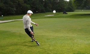 Calverley Golf Course: 18 Holes of Footgolf With Beer For One, Two or Five at Calverley Golf Club (Up to 59% Off)