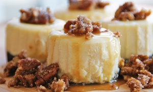 Capital City Cheesecake: One Dozen Mini Cheesecakes at Capital City Cheesecake (Up to 44% Off)