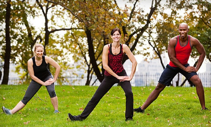 Team Adrenaline International - Multiple Locations: 10 or 20 Outdoor Group Fitness Classes at Team Adrenaline International (61% Off)