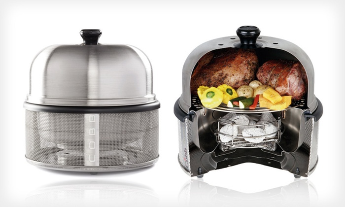 Portable Grills: Cadac Safari-Chef Portable Grill or Cobb Premier Grill (Up to 45% Off)
