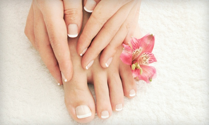 Nail & Hair Bar - Burbank: Signature Manicure, Signature Pedicure, or Both at Nail & Hair Bar (Up to 52% Off)