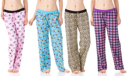 Women's Pajama Pants (4-Pack)