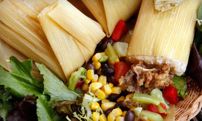 Tamale Mama's - Richmond: Tamale Meal for Two or Four at Tamale Mama's (Up to Half Off)