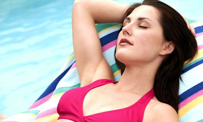 New Look Skin Center - Multiple Locations: Six Laser Hair-Removal Treatments on a Small, Medium, Large, or Extra-Large Area at New Look Skin Center (Up to 70% Off)