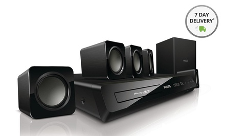 Philips Smart 3D Blu-ray Home-Theater System (HTS3541/F7) (Third-Party Refurbished). Free Returns.