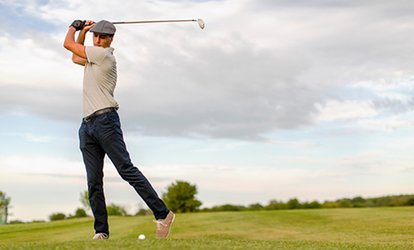 18-Hole Round of Golf for Two or Four with Golf Cart at the Club de Golf Saint-Simon (Up to 70% Off)