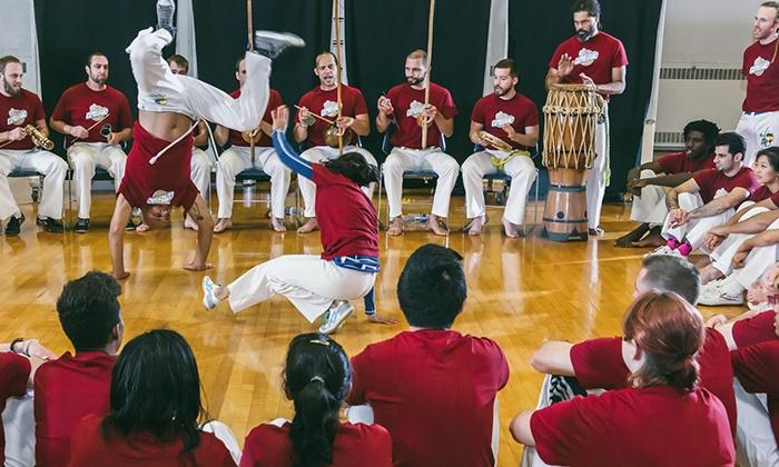 Com Expressão - East Avenue: 10, 25, or One, Three, or Six Months of Capoeira Classes at Com Expressão (Up to 78% Off)
