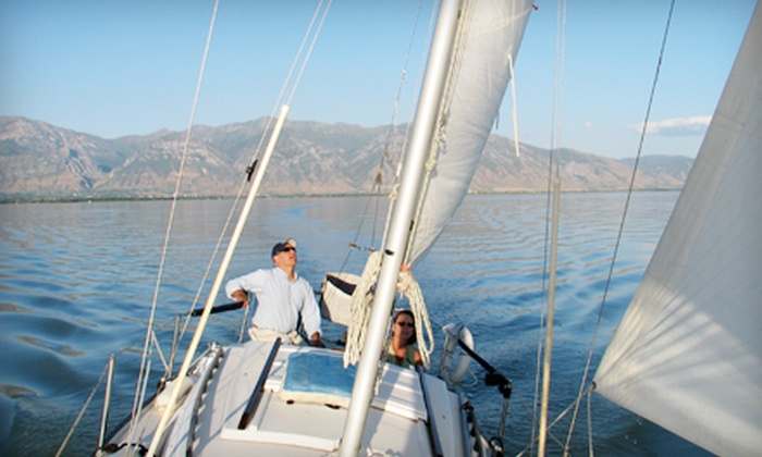 Bonneville School of Sailing - Utah Lake State Park Marina: Two-Hour Discover Sailing Lesson for Two or Four from Bonneville School of Sailing in Provo (Half Off)