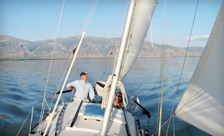 Two-Hour Discover Sailing Lesson for Two or Four from Bonneville School of Sailing in Provo (Half Off)
