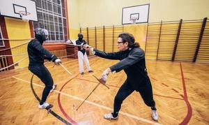 Szkoła Szermierki Klasycznej Rebel Fencing: Szermierka klasyczna: karnet miesięczny od 59,99 zł i więcej w Szkole Szermierki Klasycznej Rebel Fencing (do -50%)