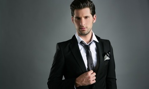 Mon Tailleur, 8ème: Costume sur mesure, option cravate, pince, boutons de manchettes et gilet dès 229 € chez Mon Tailleur