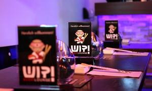 Wip Sushi Lounge: King-of-the-Wip-Sushi-Platte inklusicve Welcome Drink und Vorspeise für 2 Personen bei Wip Sushi Lounge (41% sparen*)