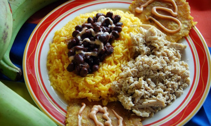 Arepas & Co - Webster Station: Colombian Lunch for Two on Thursday or Friday with Mango Beverages or $12 for $24 Worth of Comfort Food at Arepas & Co