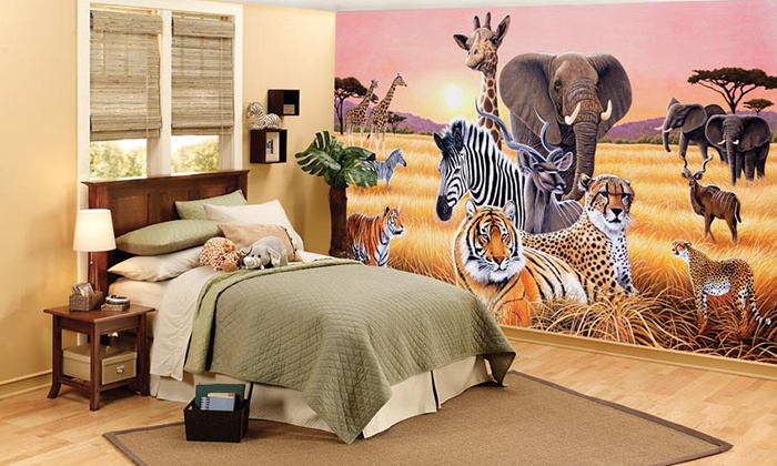"Decor Place: $59 for 8'3""x13'8"" Wall Mural from Decor Place ($149 Value)"