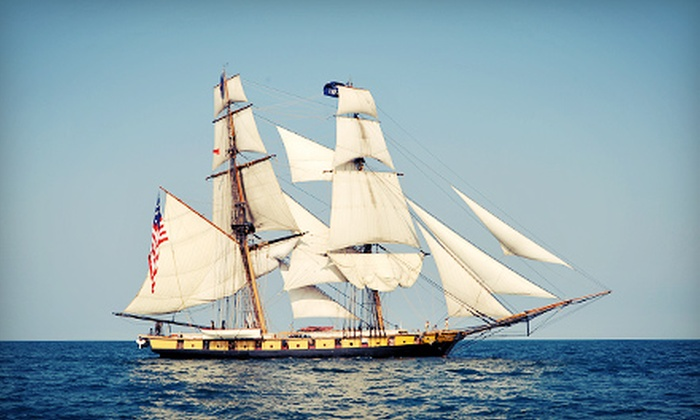 Navy Pier - Navy Pier: Tall Ships Chicago 2013 at Navy Pier on August 8–11 (Up to 56% Off). Three Options Available.