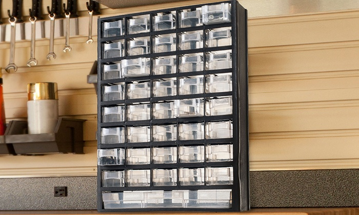 41-Compartment Hardware-Storage Box