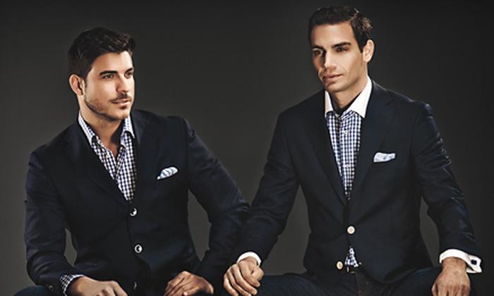 Gemelli - Beverly Hills: $100 Worth of Elegant Italian Menswear