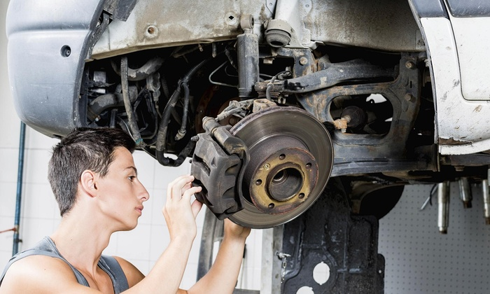 Brake Rover - Sacramento: Brake-Pad Replacement and Inspection from Brake Rover (51% Off)