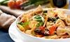 Menu italien trois plats au choix
