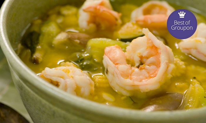 Frilly's Seafood Bayou Kitchen - Denton: $20 for $40 Worth of Cajun Food and Nonalcoholic Drinks at Frilly's Seafood Bayou Kitchen