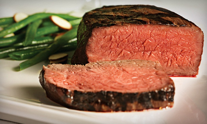 The Bull Market - North Scottsdale: $25 for Four Filets of Beef Tenderloin at The Bull Market ($49.99 Value)