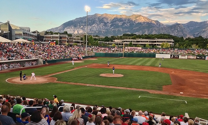 Orem Owlz - Sunset Heights: Orem Owlz Baseball Game Package for Two at Home of the Owlz (55% Off). Four Games Available.