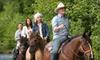 Garden Valley Trail Rides - Garden Valley: Horseback Trail Ride for Two or Four at Garden Valley Trail Rides (Up to 57% Off)