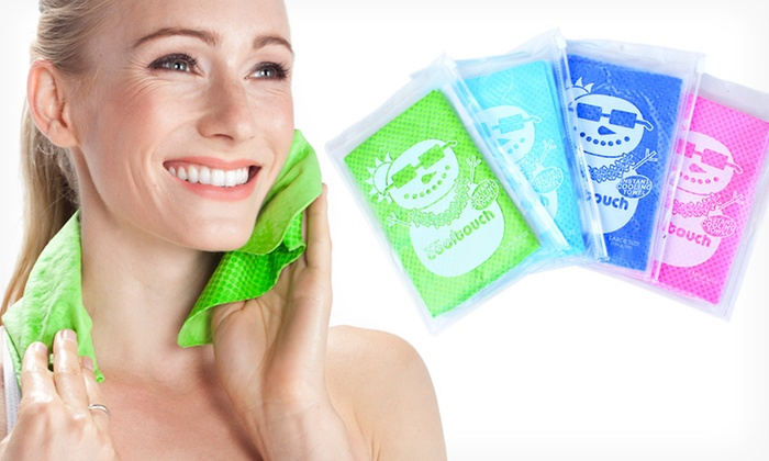 CoolTouch Towels: $5.99 for a Cool Touch Towel ($12 List Price). Multiple Colors Available. Free Returns.
