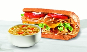 Quiznos: $20 for $30 Worth of Sub Sandwiches at Quizno's