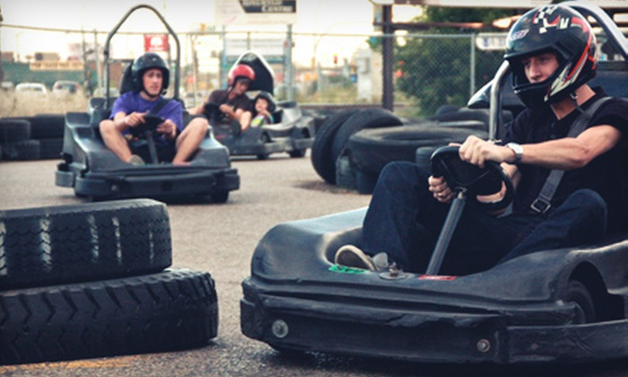 Karttrak Go Karts - Caswell Hill: Four, Eight, or Sixteen Five-Minute Rides in a Wildcat Go-Kart at Karttrack (Up to 55% Off)