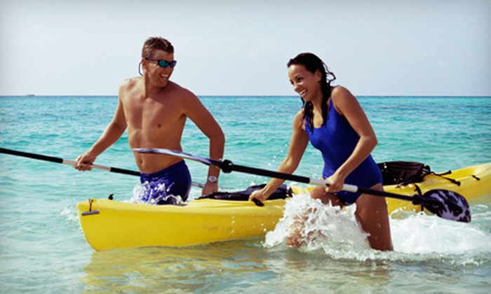 Gun Lake Rentals - Gun Lake Rentals: Kayak Rental for One or Two or Standup-Paddleboard Rental from Gun Lake Rentals in Shelbyville (Up to 51% Off)