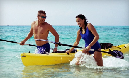 8-Hour Kayak Rental for One (a $40 value) - Gun Lake Rentals in Shelbyville