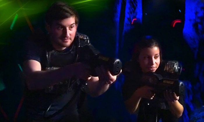 Captain Jack's Pirate's Cove - Niagara Falls: Two, Four, or Six Games of Laser Tag at Captain Jack's Pirate's Cove (Up to 59% Off)