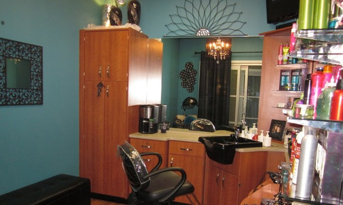 Harmony Hair Studio - Inside of Sola Salon Studios: Up to 54% Off Haircuts and Highlights or Root Touch-Up Color for Women at Harmony Hair Studio
