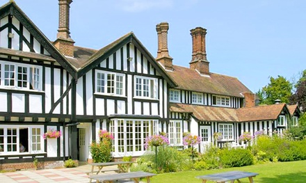 Norfolk: Standard Double Room for Two with Breakfast and Dinner Discount at Lenwade House Hotel