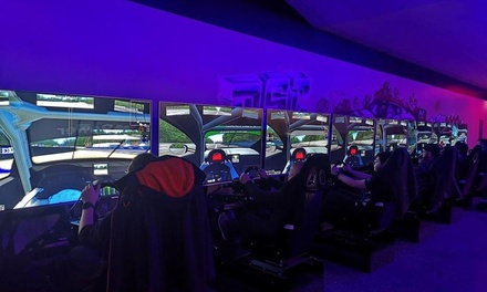 OneHour Racing Simulator Experience for Up to Six at DSC Race Center