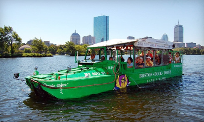 Boston Duck Tours - The Museum of Science: $24 for an Amphibious-Vehicle Tour of Boston from Boston Duck Tours (Up to $38.14 Value)