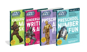 Star Wars Pre-K to 2nd Grade Activity Books
