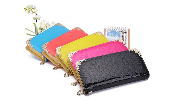 Quilted Leather Smartphone Wallet Case: Quilted Leather Smartphone Wallet Case
