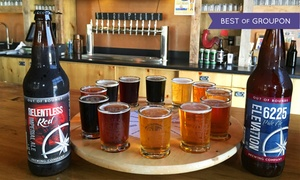 Out of Bounds Brewing Company: Brewery Tour, Flights, and Take-Home Beers for 2 or 4, or Party at Out of Bounds Brewing Company (Up to 49% Off)