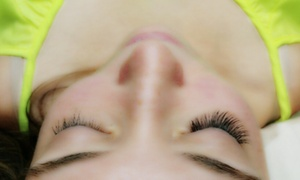 Lindsey Lash: Half Set of Eyelash Extensions at Lindsey Lash (45% Off)