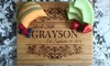 Up to 59% Off Personalized Cutting Boards from Qualtry