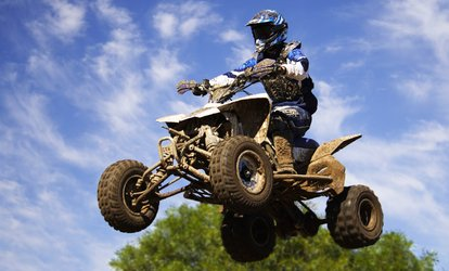 $25 for an All-Day ATV & Dirt-Bike Park Visit for 2, Valid Monday-Friday at Mines & Meadows ($50 Value)