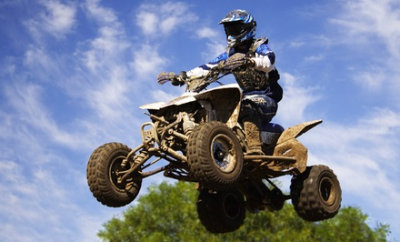 $25 for an All-Day ATV and Dirt-Bike Park Visit for Two at Mines & Meadows ($50 Value)