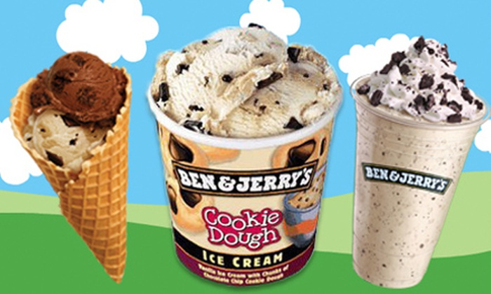 Ben & Jerry's - University Heights: One or Three Groupons, Each Good for $12 Worth of Frozen Treats at Ben & Jerry's (Half Off)