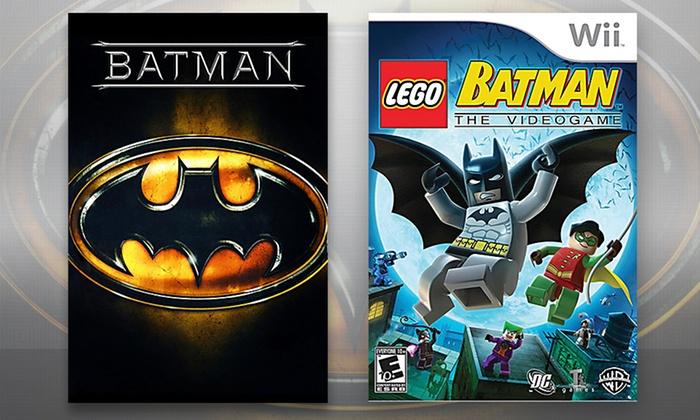 LEGO Batman Game and Batman DVD   Groupon Goods