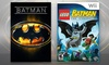 LEGO Batman Wii Video Game and Batman on DVD: LEGO Batman Wii Video Game and Batman on DVD Bundle