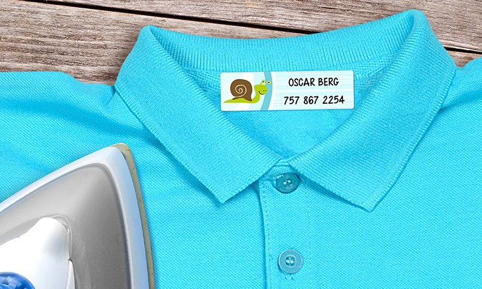 Photo deals deal of the day groupon for Clothing identification labels