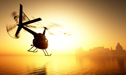 $159 for a 10-Minute Private Helicopter Tour for Up to Three at Heli Rides ($270 Value)
